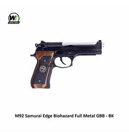 WE M92 Samurai Edge Biohazard Full Metal GBB - BK