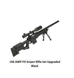 Well L96 AWP FH Sniper Rifle Set Upgraded Black