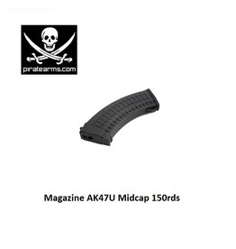 PIRATE ARMS Magazine AK47U Midcap 150rds