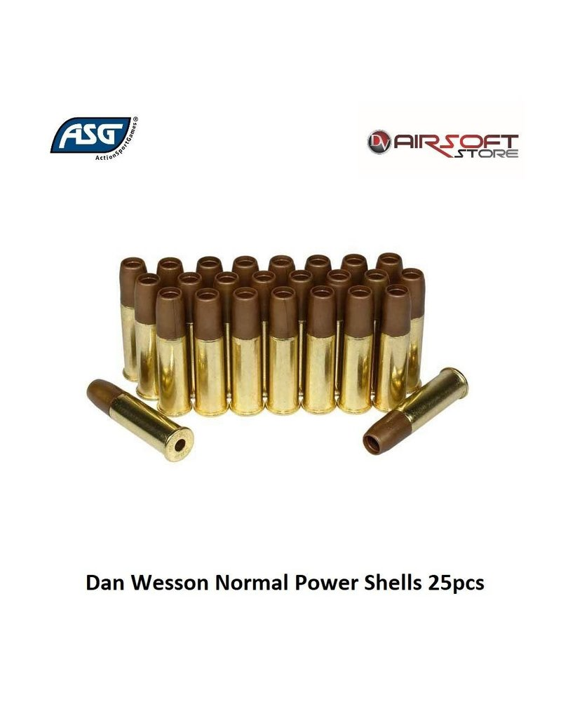 Dan Wesson Dan Wesson Normal Power Shells 25pcs