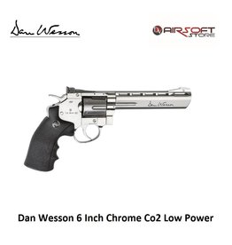 ASG Dan Wesson 6 Inch Chrome Co2 Low Power