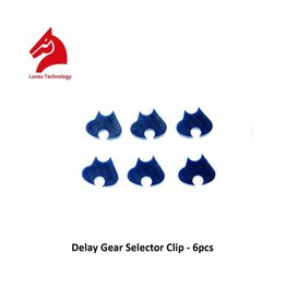 Lonex Delay Gear Selector Clip - 6pcs