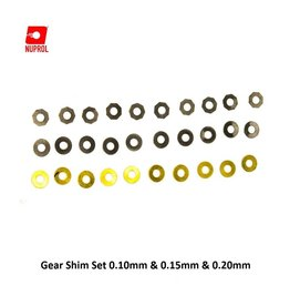 NUPROL Gear Shim Set 0.10mm & 0.15mm & 0.20mm