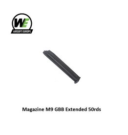 WE Magazine M9 GBB Extended 50rds