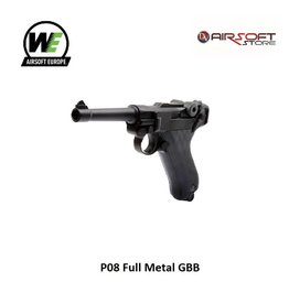 WE P08 Full Metal GBB