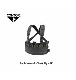 CONDOR Rapid Assault Chest Rig - BK