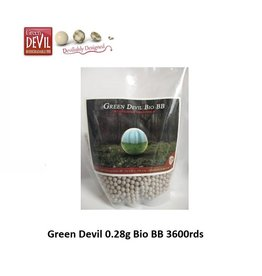 Green Devil 0.28g Bio BB 3600rds
