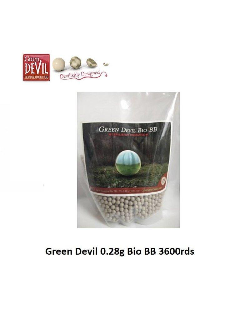 Green Devil 0.28g Bio BB 3600rds