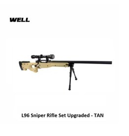 Well L96 Sniper Rifle Set Upgraded - TAN