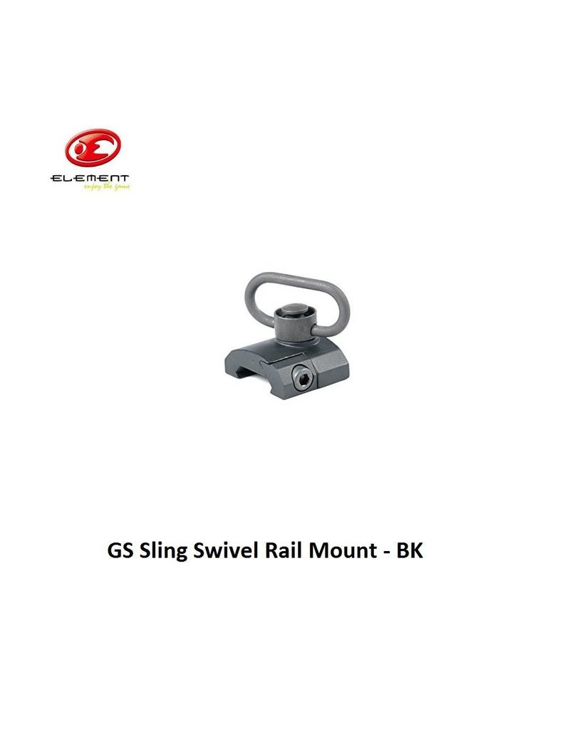 Element GS Sling Swivel Rail Mount - BK