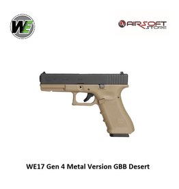 WE WE17 Gen 4 Metal Version GBB Desert