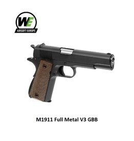 WE M1911 Full Metal V3 GBB