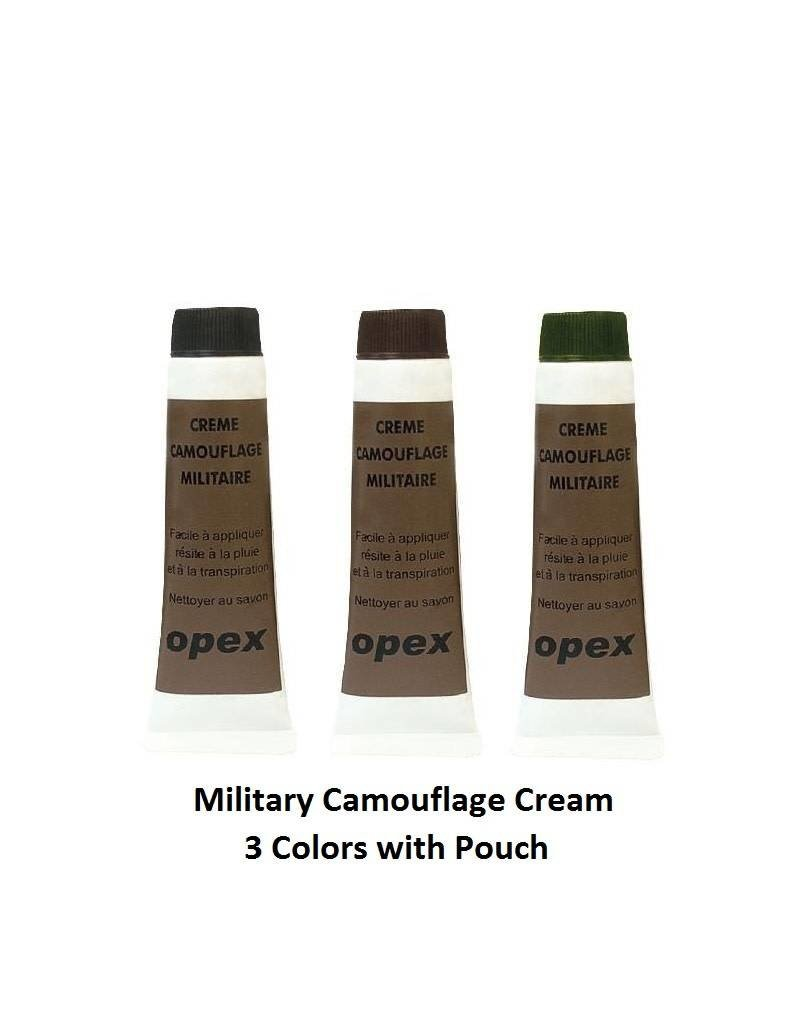 Armsco Military Camouflage Cream - 3 Colors with Pouch