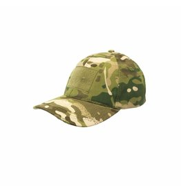 WE Combat Cap With Velcro - Camo