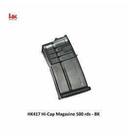 Heckler & Koch HK417 Hi-Cap Magazine 500 rds - BK