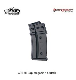 Union Fire G36 Hi-Cap magazine 470rds