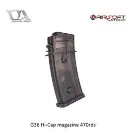Classic Army G36 Hi-Cap magazine 470rds
