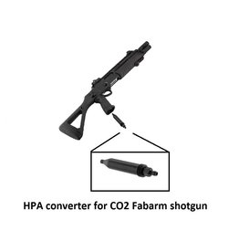 BO HPA converter for CO2 Fabarm shotgun