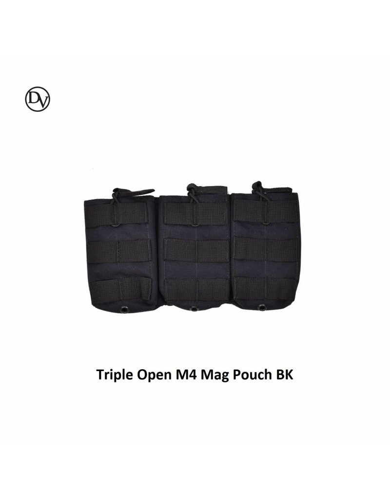 Delta Victor Triple Open M4 Mag Pouch