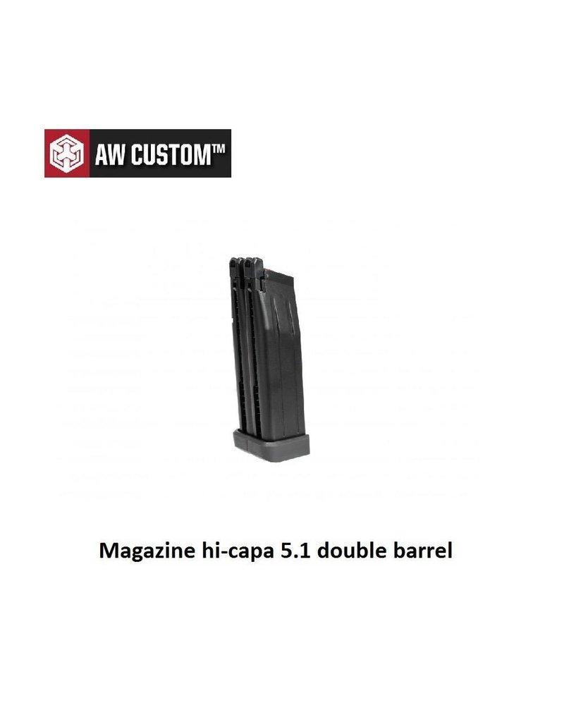 Armorer Works Magazine hi-capa 5.1 double barrel