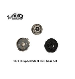 Union Fire 16:1 Hi-Speed Steel CNC Gear Set