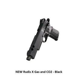 Secutor NEW Rudis X Gas and CO2 - Black