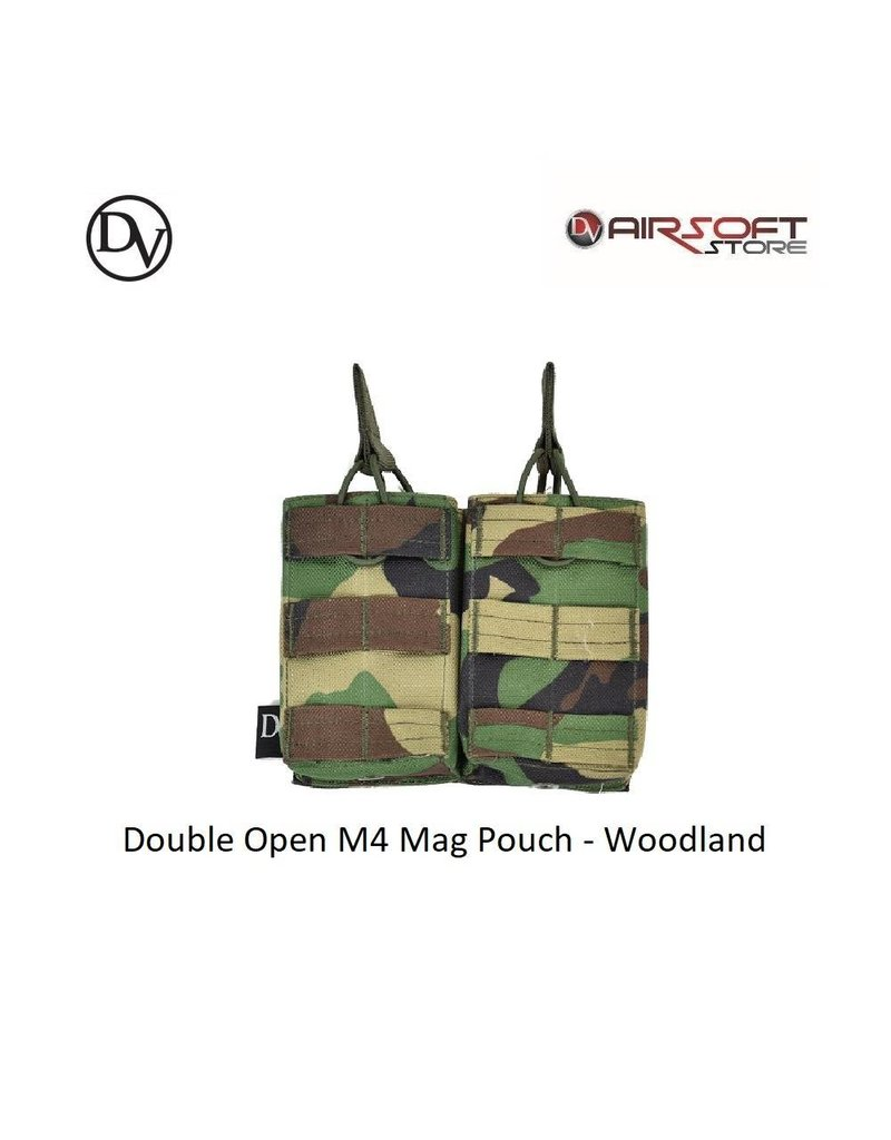Delta Victor Double Open M4 Mag Pouch