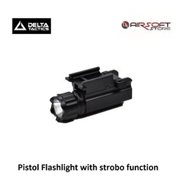 Delta Tactics Pistol Flashlight with strobo function