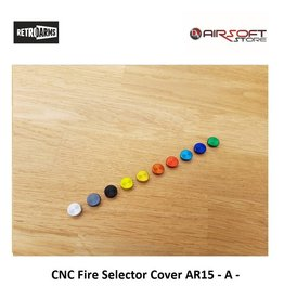 Retro Arms CNC Fire Selector Cover AR15 - A -
