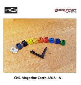 Retro Arms CNC Magazine Catch AR15 - A -