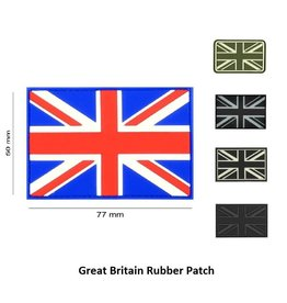JTG Great Britain Rubber Patch