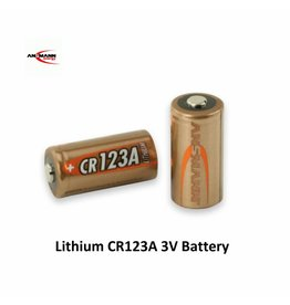 Ansmann Lithium CR123A 3V Battery