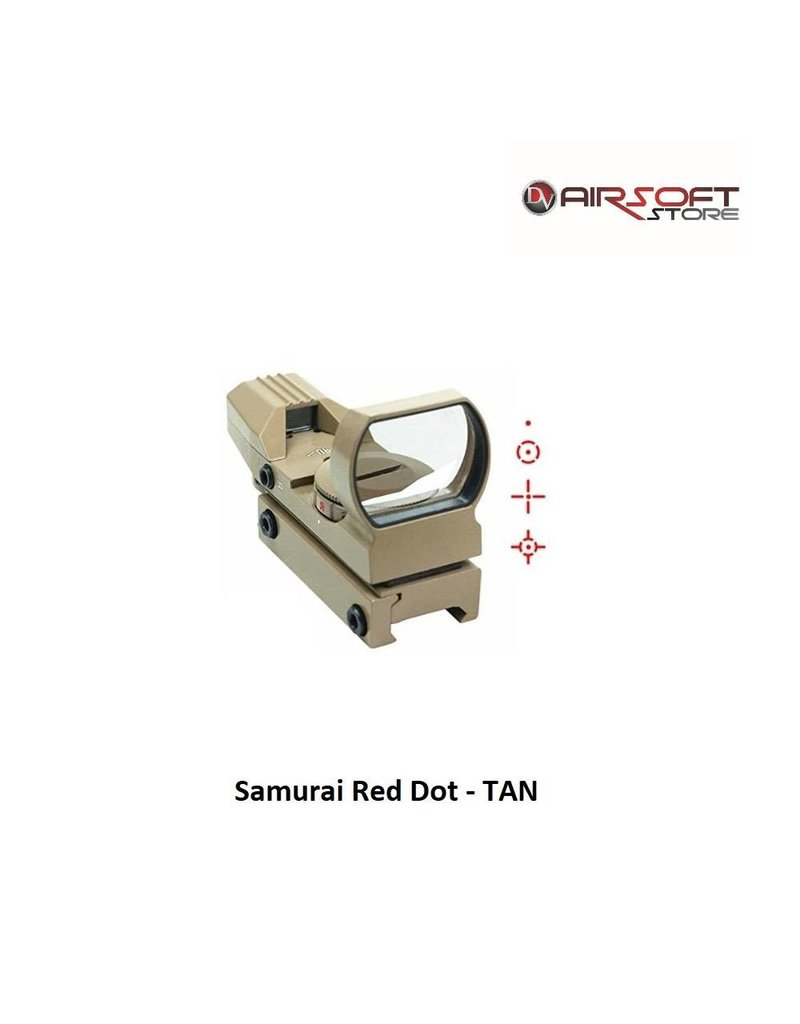 Delta Tactics Samurai Red Dot - TAN