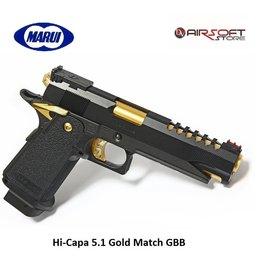 Tokyo Marui Hi-Capa 5.1 Gold Match GBB