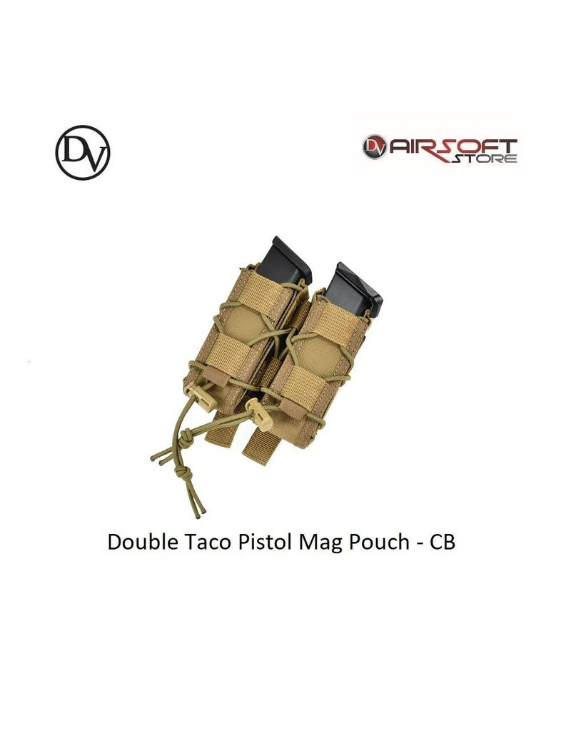 Delta Victor Double Taco Pistol Mag Pouch