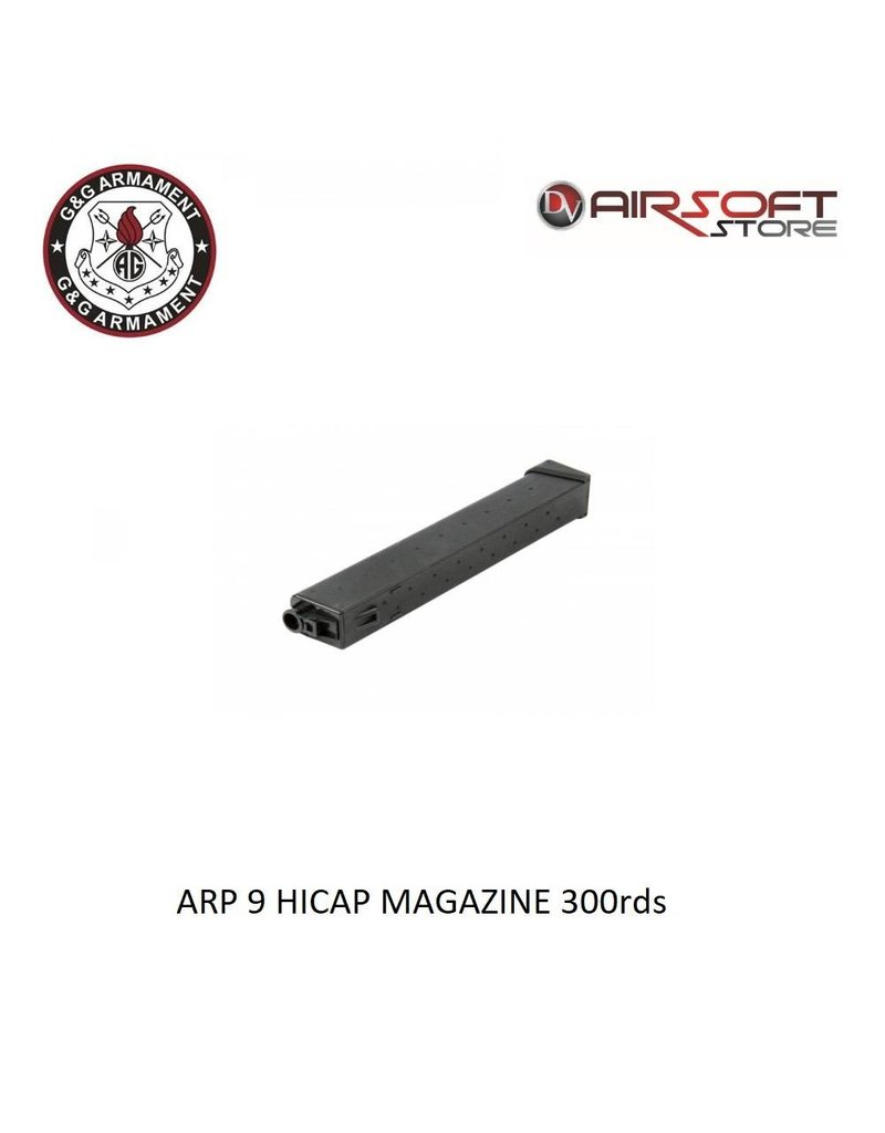 G&G ARP 9 DRUM MAGAZINE - 1500BBS