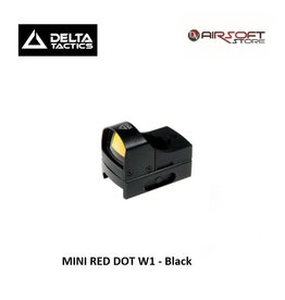 Delta Tactics MINI RED DOT W1 - Black