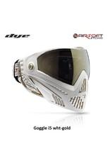 DYE PRECISION Goggle i5 weiß-gold