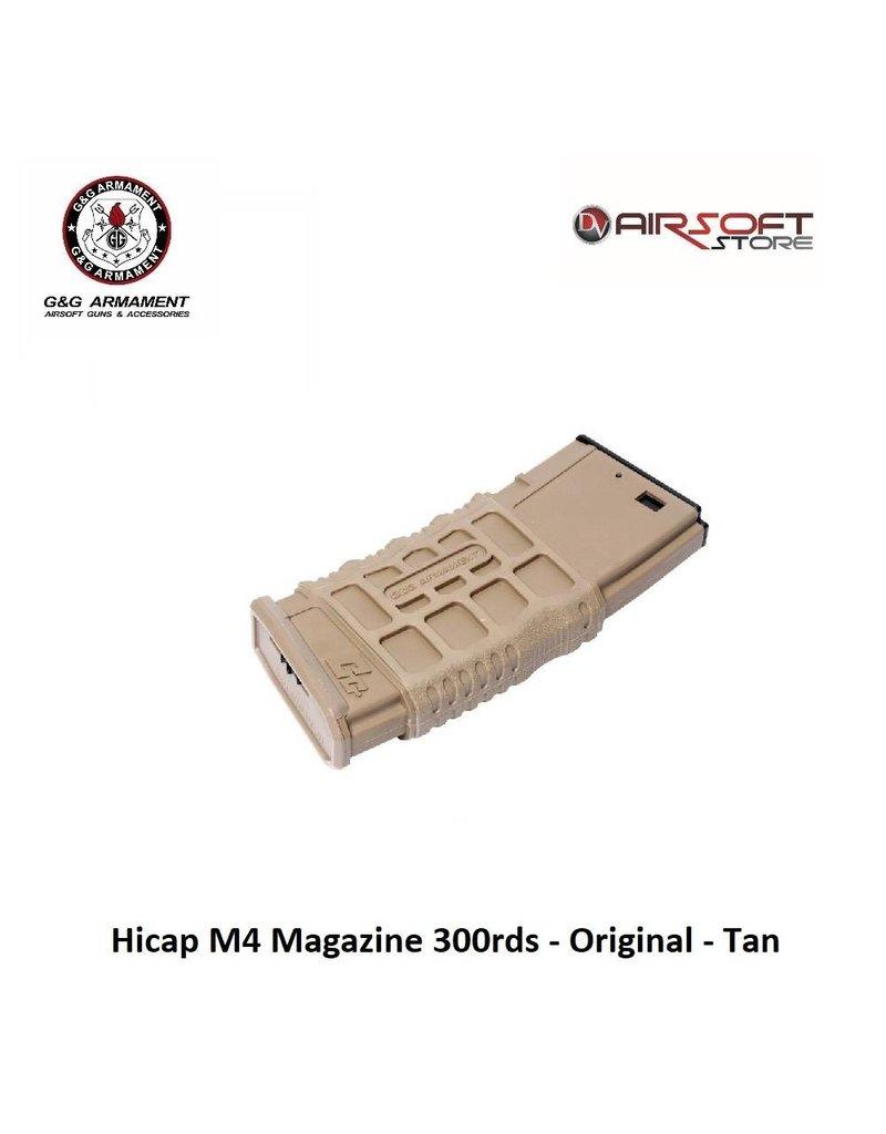 G&G Hicap M4 Magazine 300rds - Original - Tan