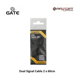 Gate Dual Signal Cable 2 x 60cm
