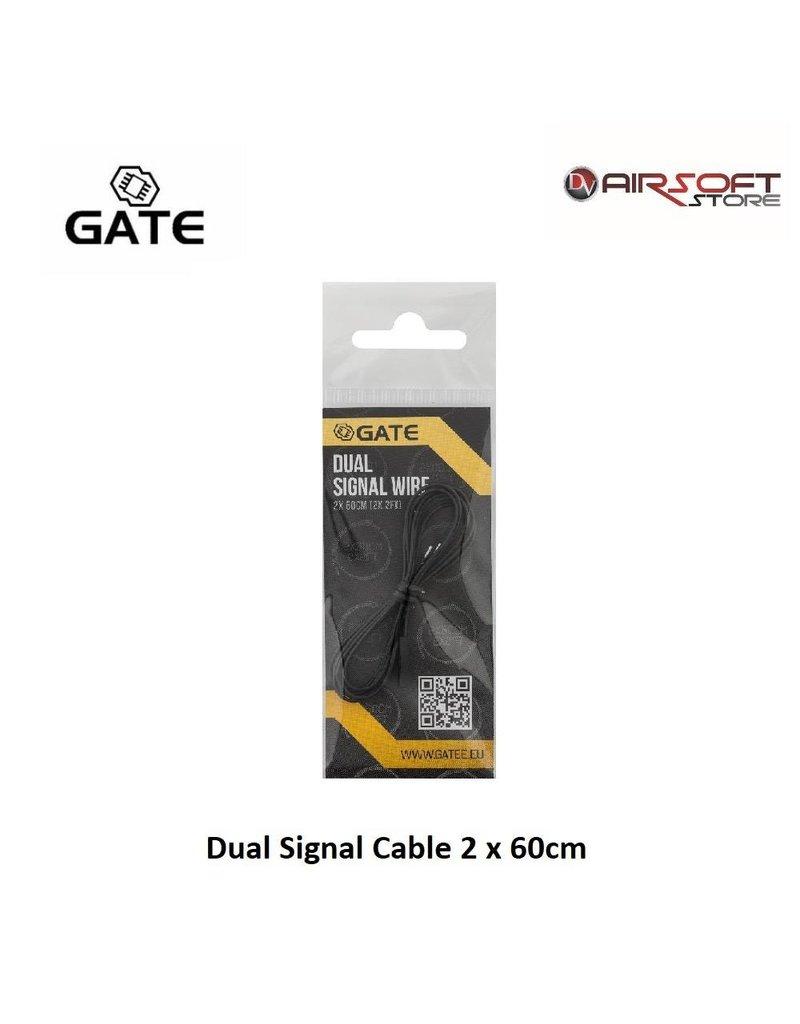 Gate Dual Signal Cable 2 x 60cm