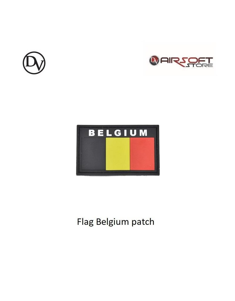 Delta Victor Flag Belgium patch
