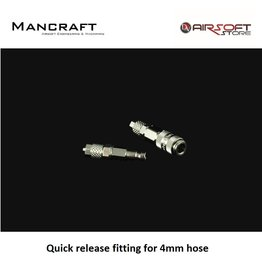 Mancraft Quick release fitting for 4mm hose