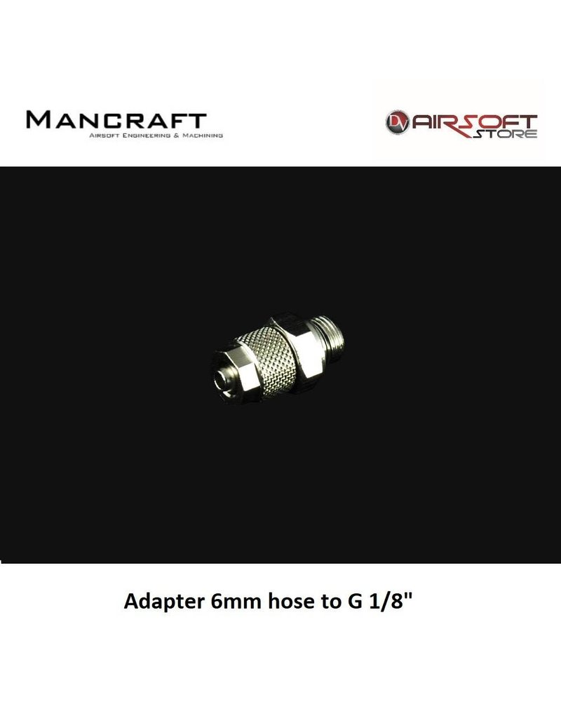 Mancraft Adapter 6mm hose to G 1/8""