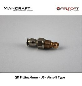 Mancraft QD Fitting 6mm - US - Airsoft Type