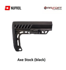 NUPROL Axe Stock (black)