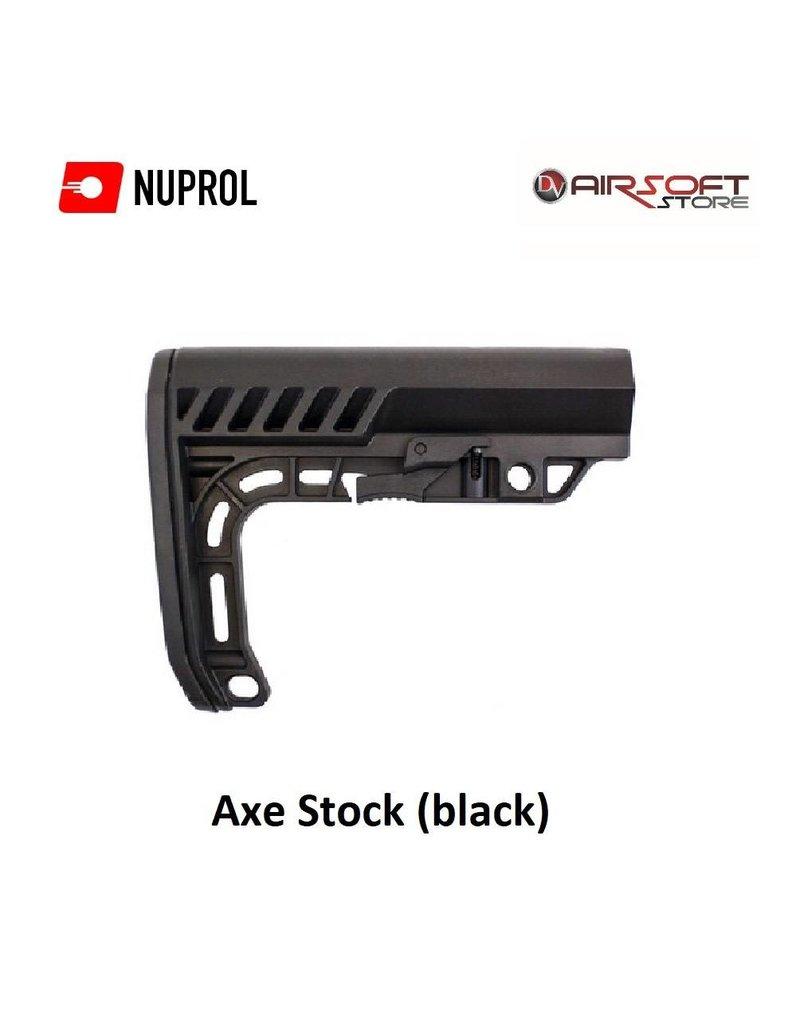 NUPROL Axe Stock (black)