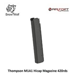 Snow Wolf Thompson M1A1 Hicap Magazine 420rds