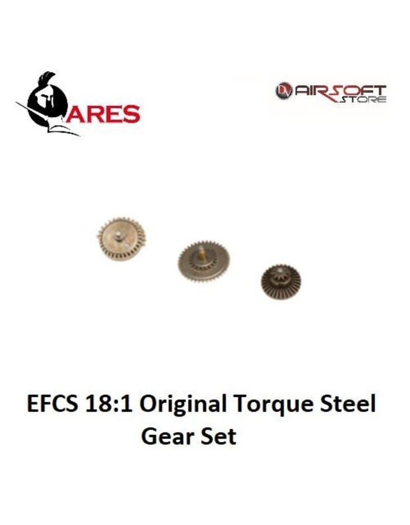 Ares EFCS 18:1 Original Torque Steel Gear Set
