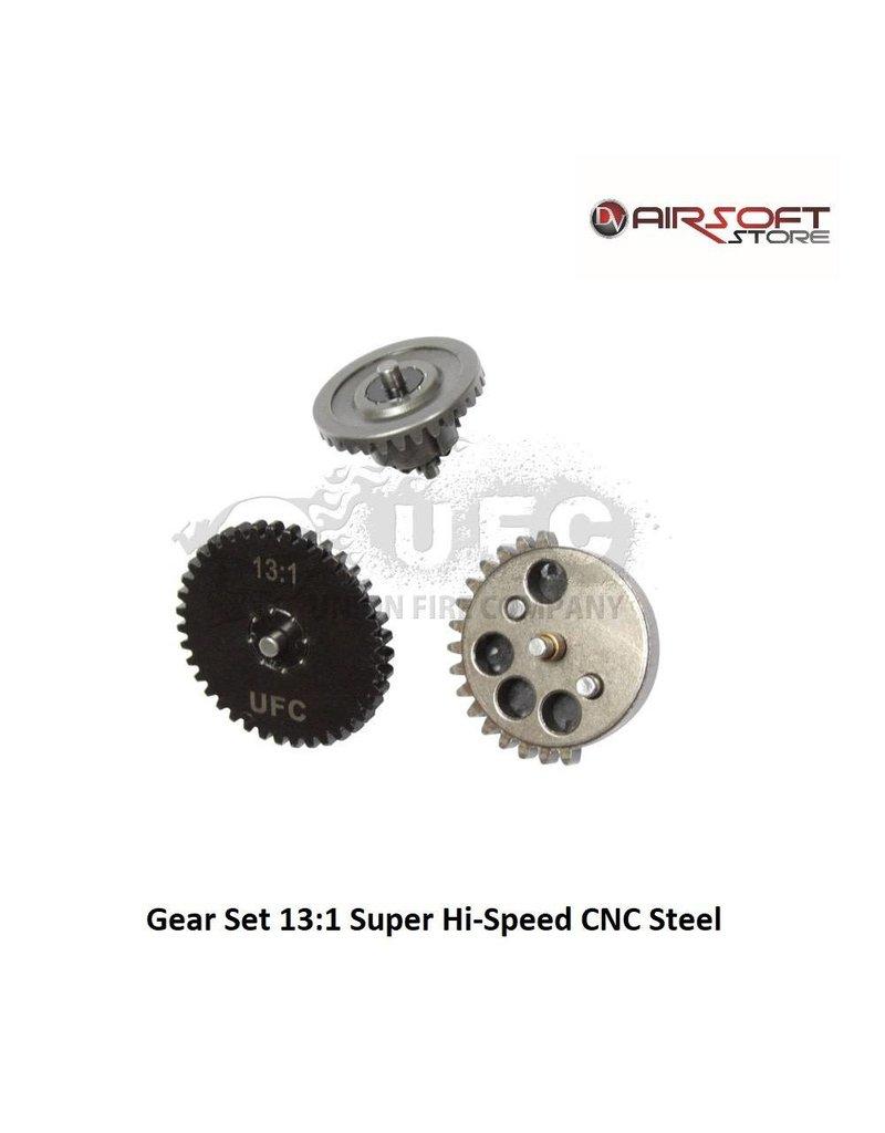 Union Fire Gear Set 13:1 Super Hi-Speed CNC Steel